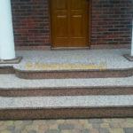 granitowe schody z kamienia